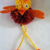 Cute Pompom Chick - finished