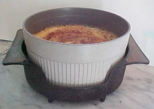 Rice Custard Pudding in cup