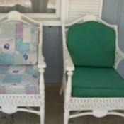 porch chair cushions