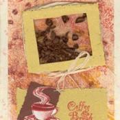 Coffee shaker card.
