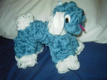 How To Make A Yarn Dog