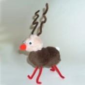finished reindeer