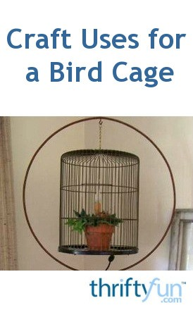 Craft Uses For A Bird Cage Thriftyfun