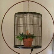 Bird Cage Night Light