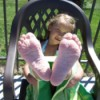 Funny Shriveled feet