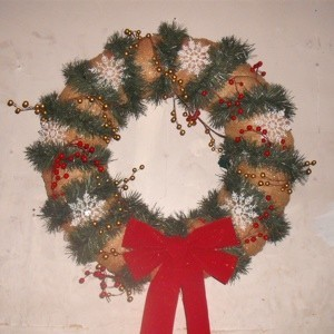 Refurbished Christmas Wreath