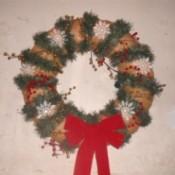 Refurbished Christmas Wreath