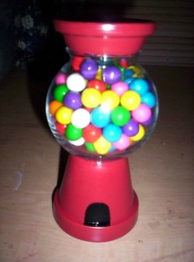 Bubble Gum Machine Candy Dish