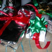 Wrap Presents With Foil