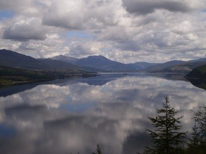 Scenery: Loch Carron, Scotland