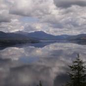 Scenery: Loch Carron, Scotland