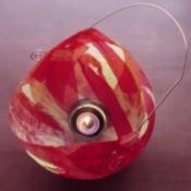 Paper mache lantern.