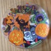 Halloween decorated plate.