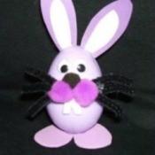 Plastic Egg Bunny