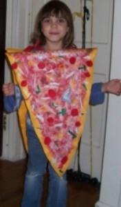 Slice of Pizza Costume