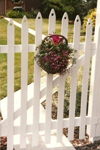 Garden Gate Decor