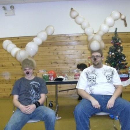 Reindeer Balloon Game