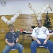 Reindeer Balloon Game