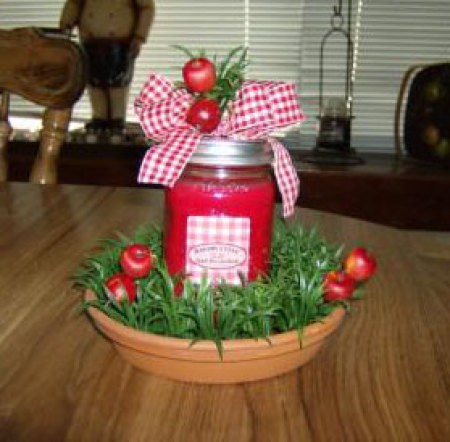 Apple Field Candle