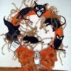 Halloween Wreath and Bow
