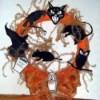 Halloween Wreath and Bow
