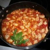 Zesty Olive Chicken in pan