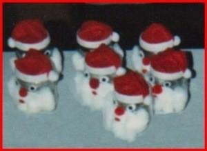 Santa jars