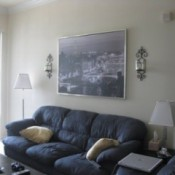 Blue/Gray Couch