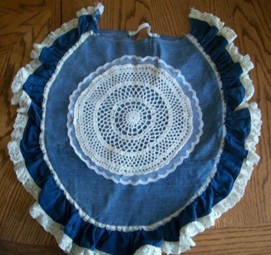 Pleasant How To Make Denim Toilet Seat And Tank Covers Thriftyfun Theyellowbook Wood Chair Design Ideas Theyellowbookinfo