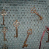 key wall hanging