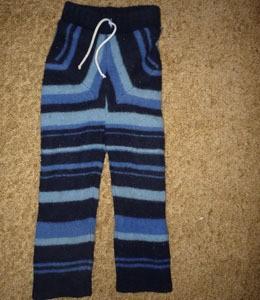 Wool Sweater Pants