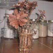 """Flower"" Twig Vase"