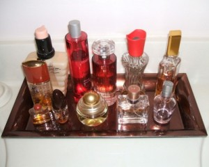 Use Candle Trays For Perfumes