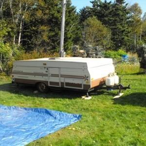 Canvas Tent Trailer