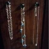 Hang Jewelry On Thumb Tacks