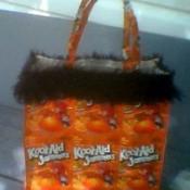 Juice pouch purse.