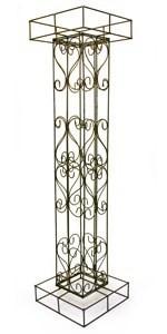 Metal Columns for a Wedding