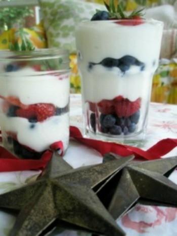 Festive Berry Parfaits