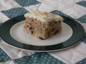 Piece of Crumb Cake