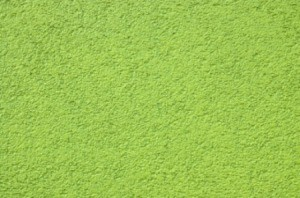 Green Plaster Walls