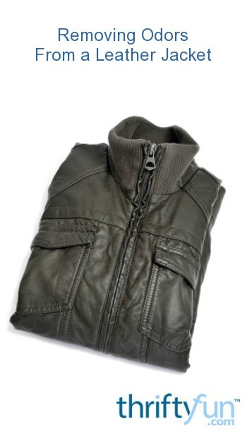 Removing Odors from a Leather Jacket