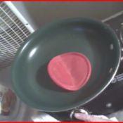 Plastic Lid for Non-Stick Skillet Scrubber