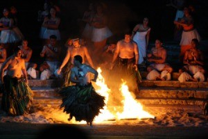 Hawaiian Fire Dancers
