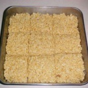 Making Marshmallow Cereal Treats
