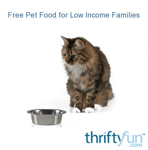 Free Pet Food For Low Income Families