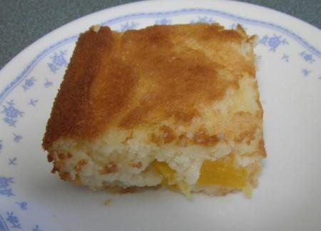 Gluten Free Peach Cobbler