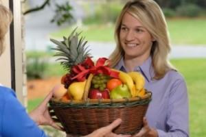 Housewarming Fruit Basket