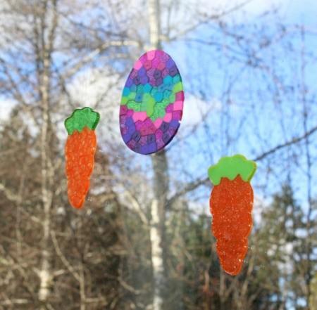 Easter Suncatchers Finished