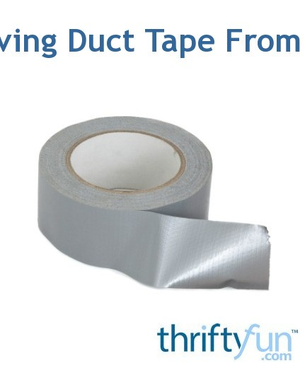 Removing Duct Tape From a Car | ThriftyFun