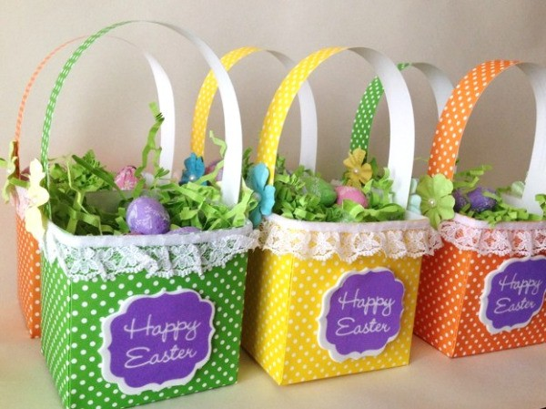 Making A Paper Easter Treat Basket Thriftyfun